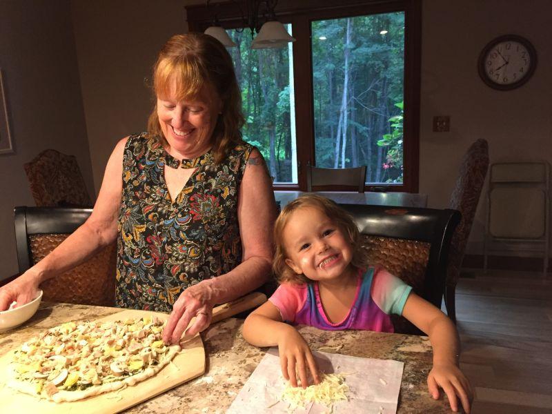 Making Pizza With Grandma