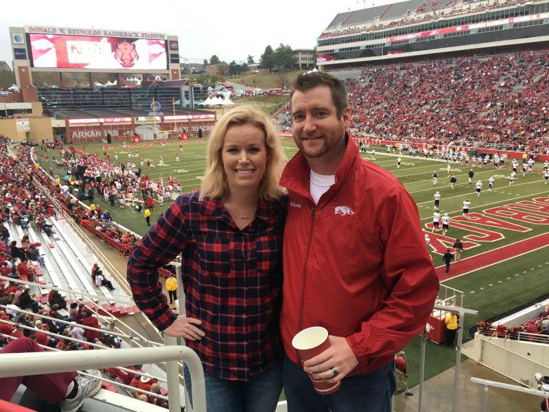 Arkansas Razorbacks Football Game