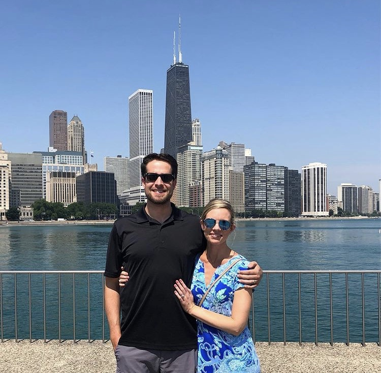 A Beautiful Summer Day During Our Visit to Chicago