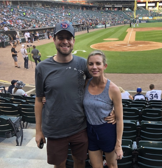 Cheering On the White Sox