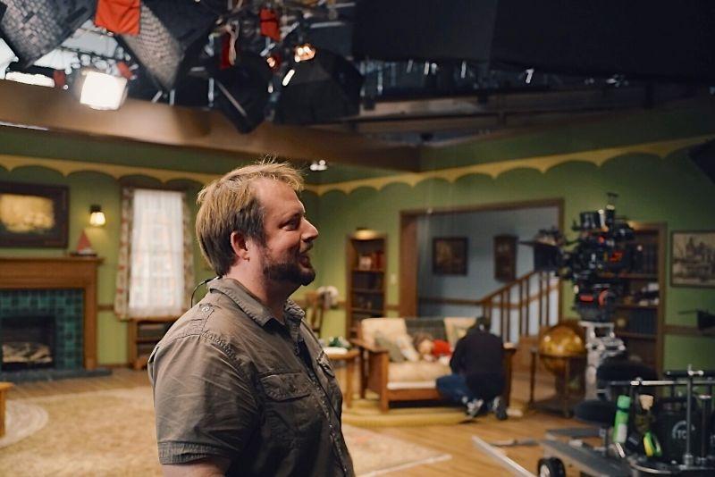 Keith on Set