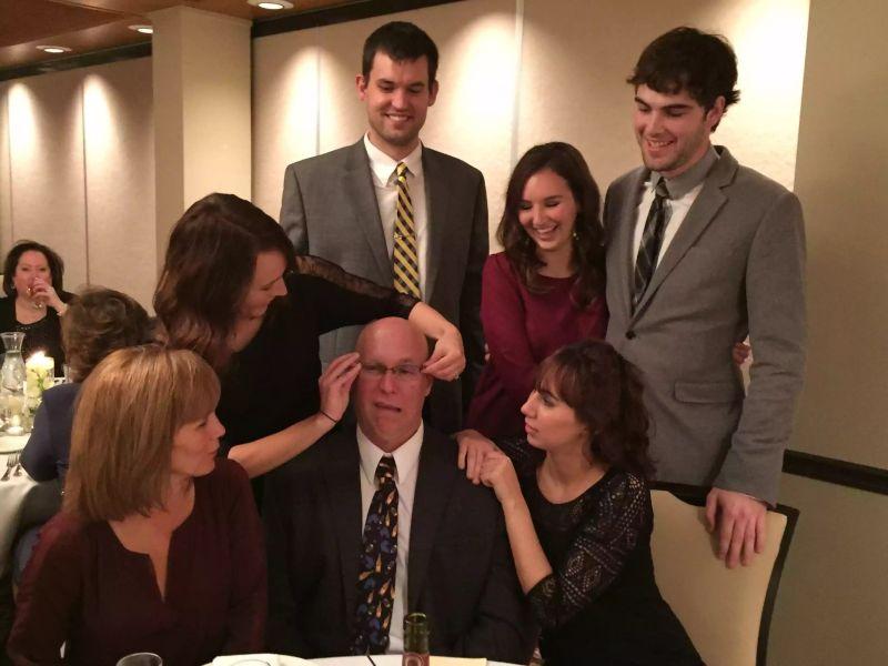 Alyssa's Family at a Wedding