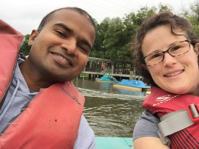 Paddle Boating