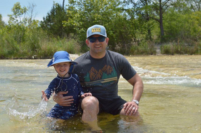 River Fun on a Camping Trip