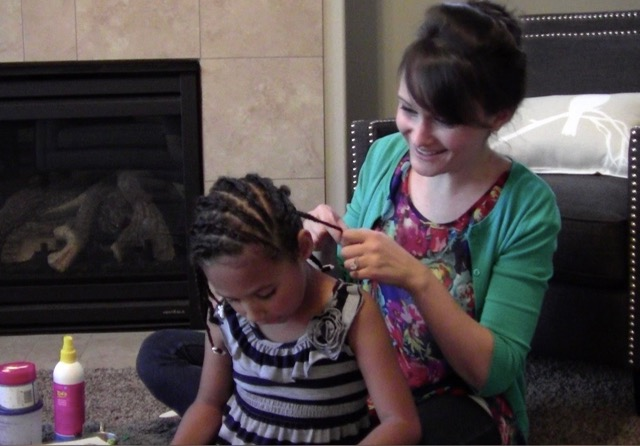 We Love Hair Braiding Time!