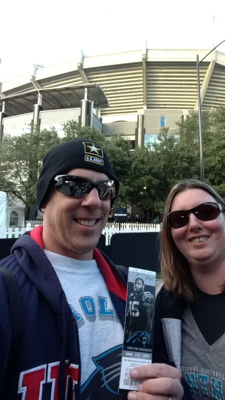 Carolina Panther Football Game