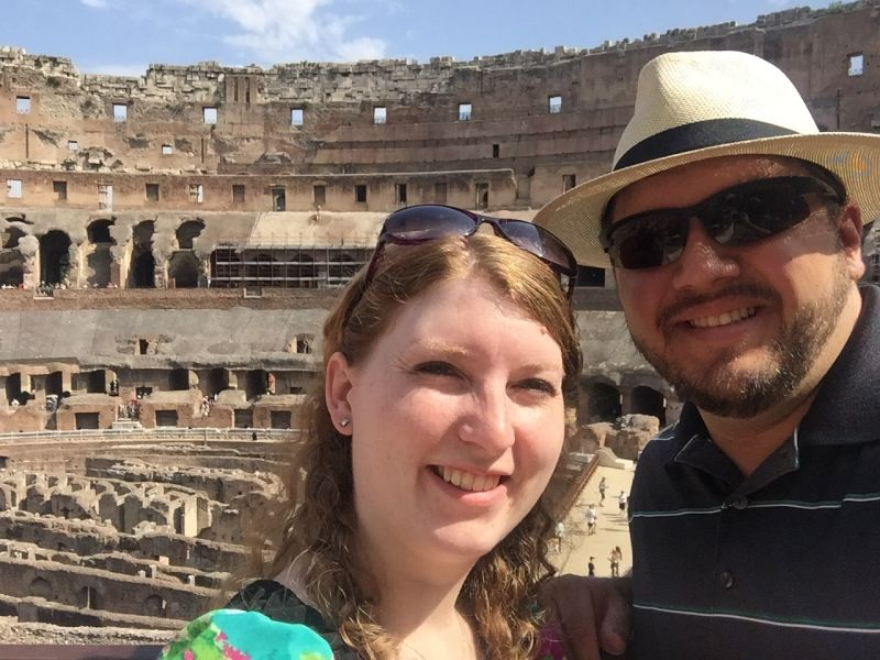 Checking Out the Roman Colosseum
