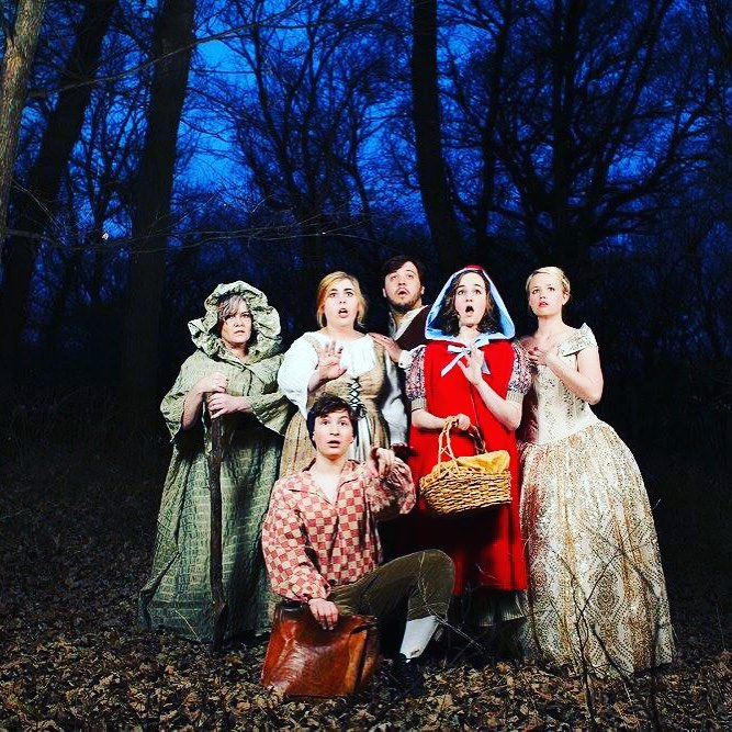 Matt Loves to Perform - Here He is in a Production of Into the Woods