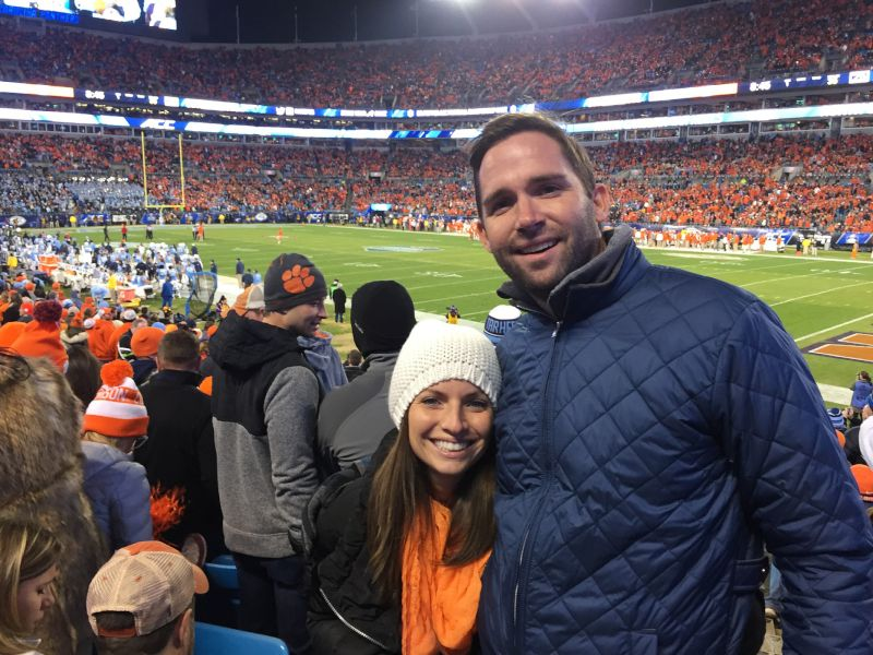 At a Clemson Game