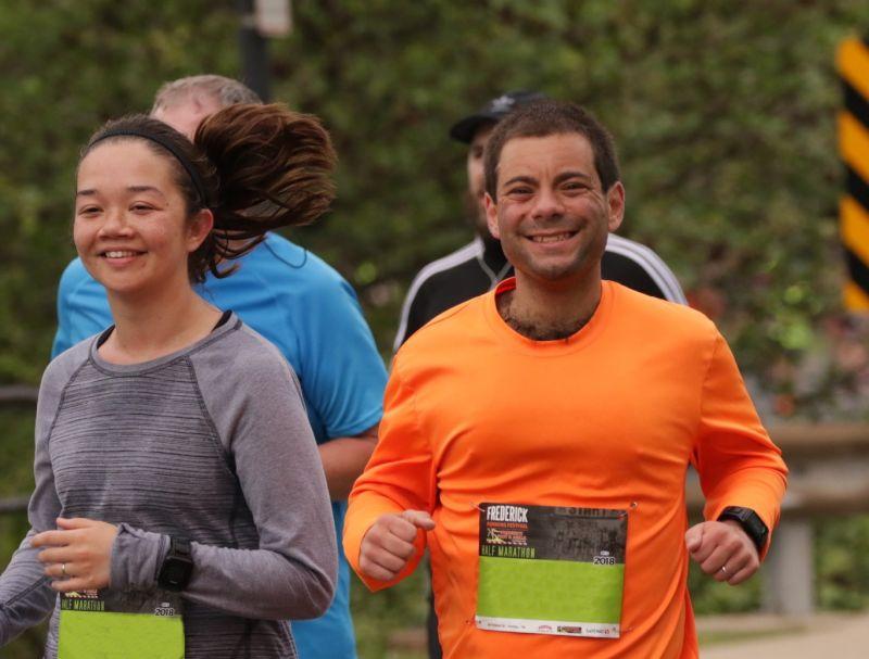 Running a Half Marathon Together