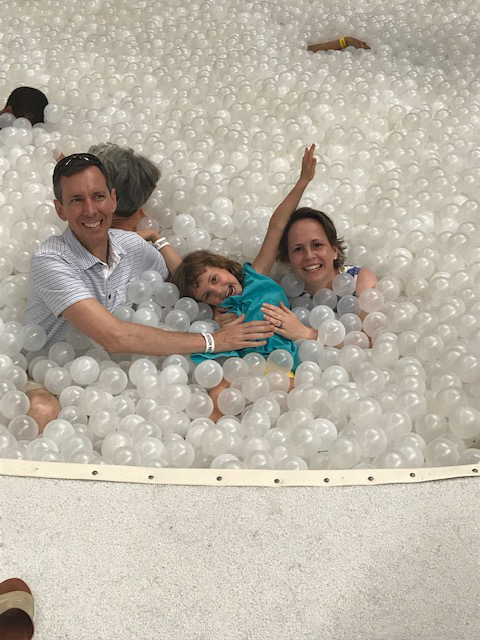 Fun in the Ball Pool at a Nearby Museum