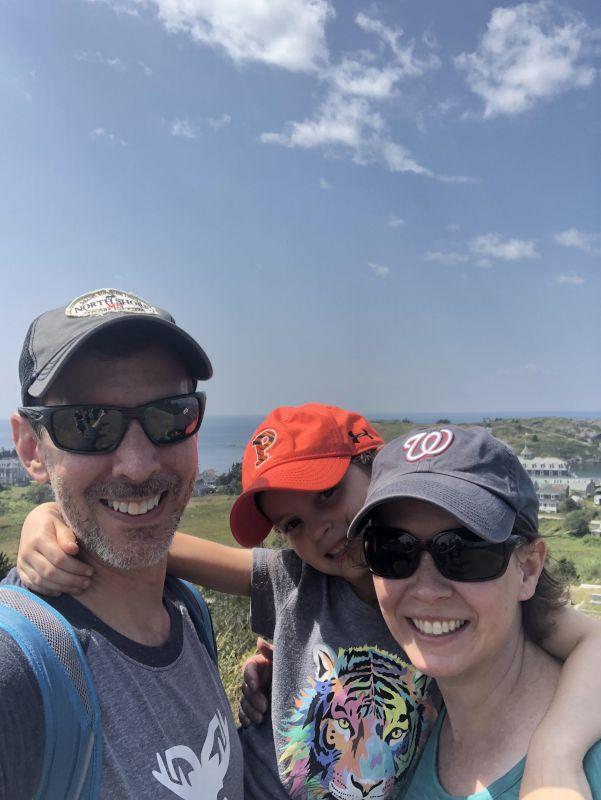 Enjoying a Family Hike
