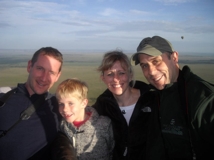 Hot Air Balloon Ride With Family in Kenya
