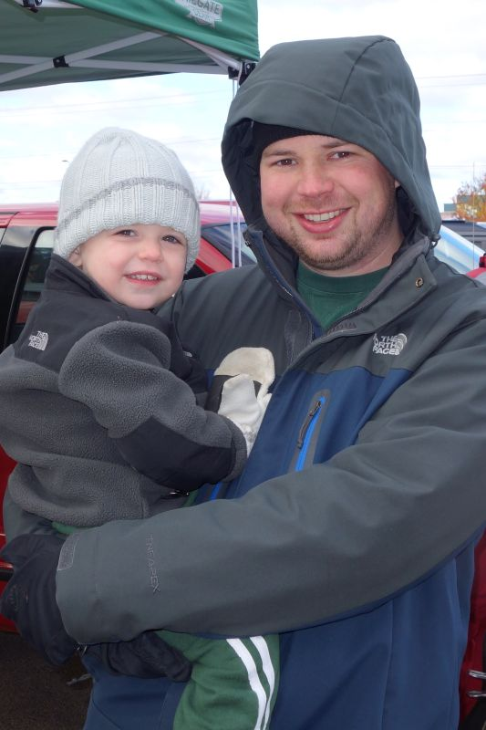 Tailgating With Our Godson