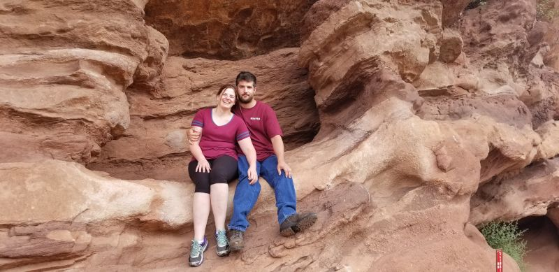 At Red Rocks Park, Colorado