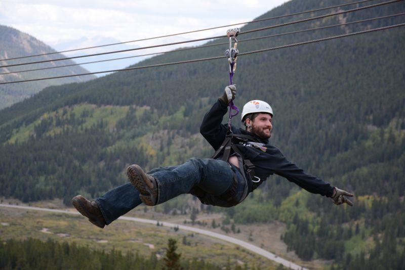 Brandonn Ziplining
