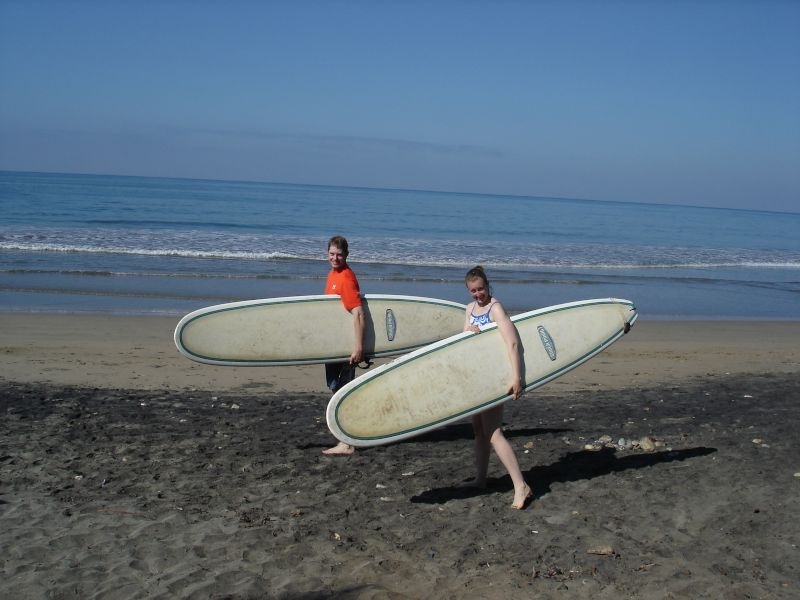 A Great Day of Surfing