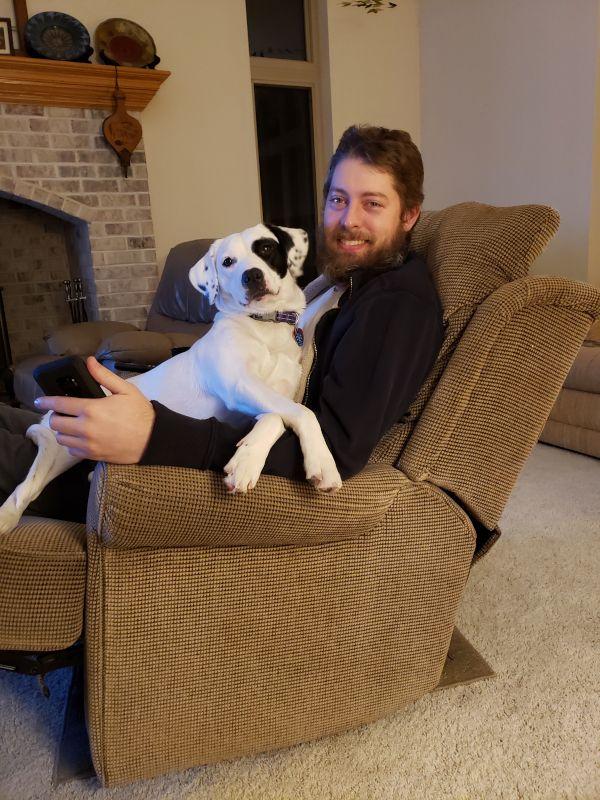 Craig & Our Pup, Roxie
