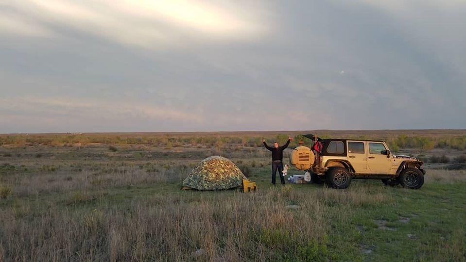 A Great Camp Spot in the Grasslands of Nebraska
