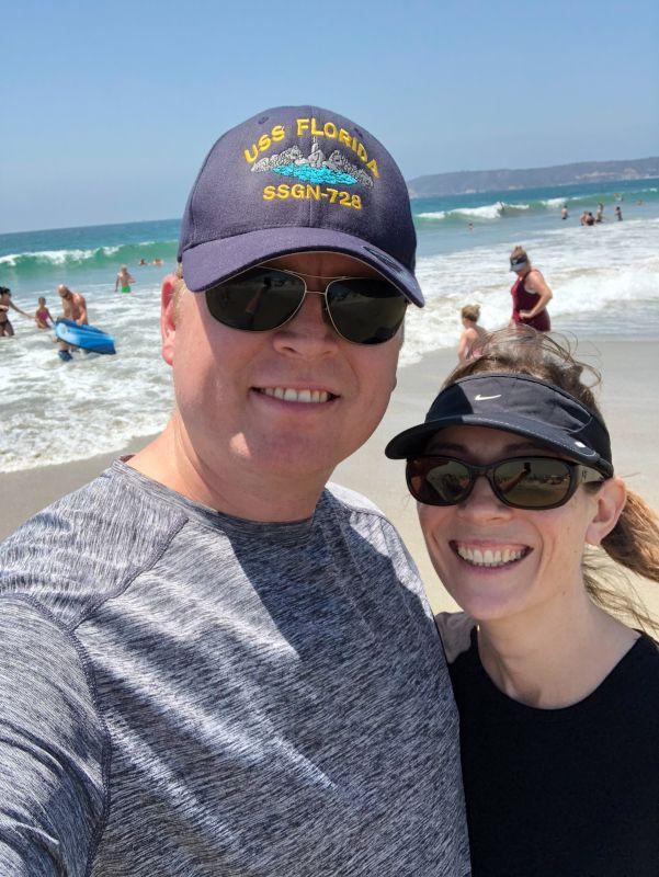On the Beach in San Diego