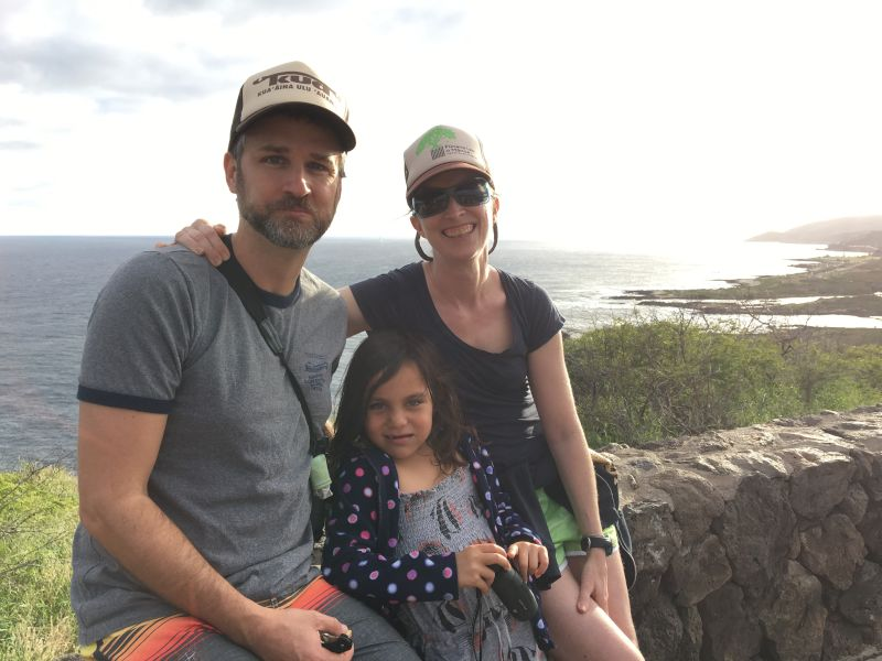 Hiking Up Makapuu