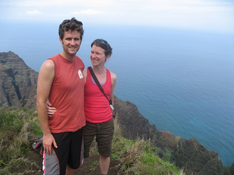 At the Top of a Hike on Kauai
