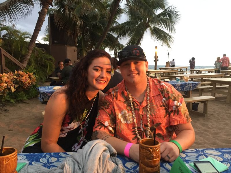 All Smiles at a Luau