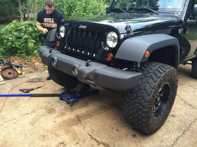 Cody Enjoys Working on Trucks & Jeeps