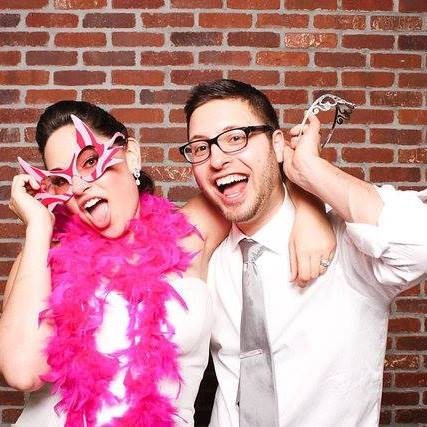 Photo Booth Fun at Our Wedding