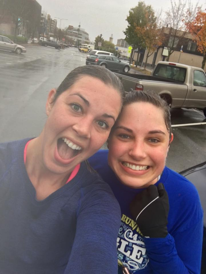Becky and Her Sister Love to Run Together