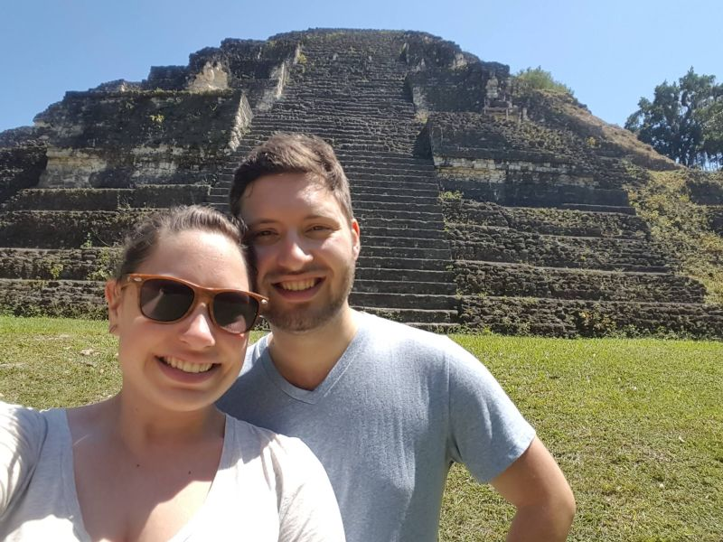 Checking Out the Ruins in Guatemala