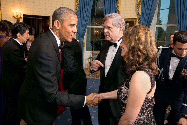 Janet Meeting President Obama