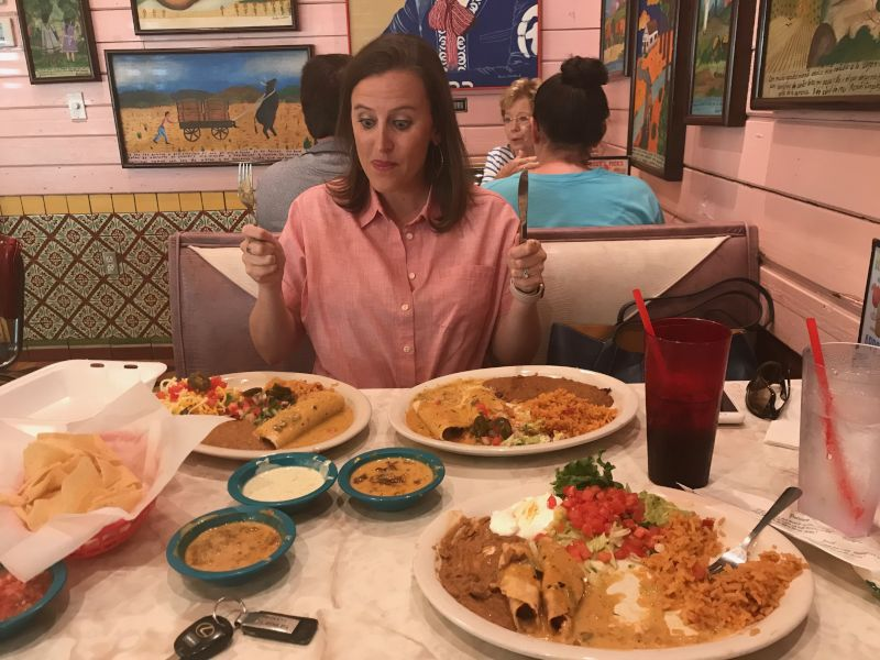 Anna Loves Mexican Food!