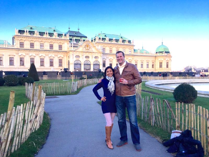 Celebrating Our Anniversary in Vienna, Austria