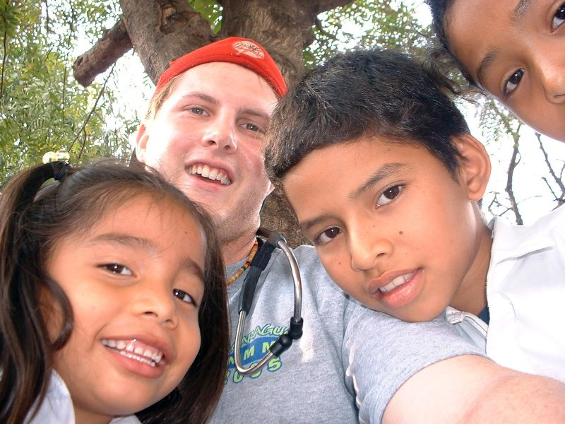 Chad on a Medical Mission Trip to Nicaragua