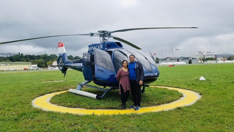 Ready for a Helicopter Ride in France
