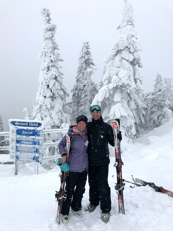 Skiing in Canada