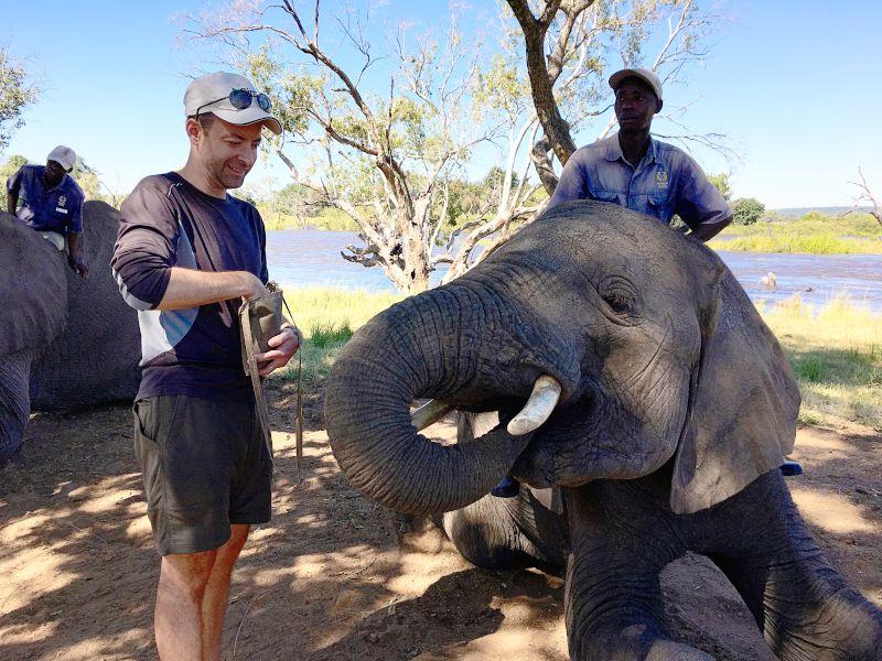 Ian in Zambia, Africa