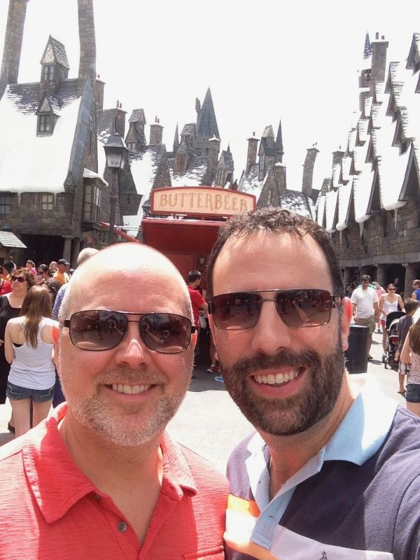 Two Gryffindors Exploring The Wizarding World of Harry Potter