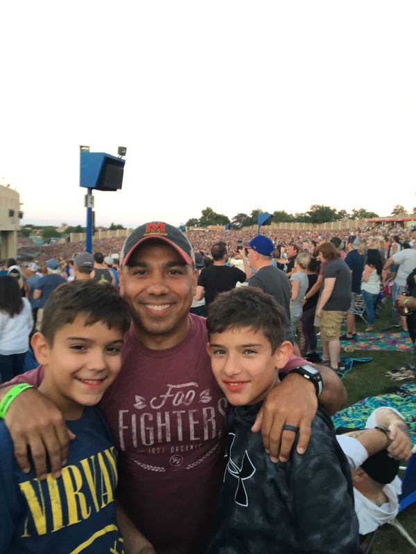 Taking Our Nephews to Their First Concert