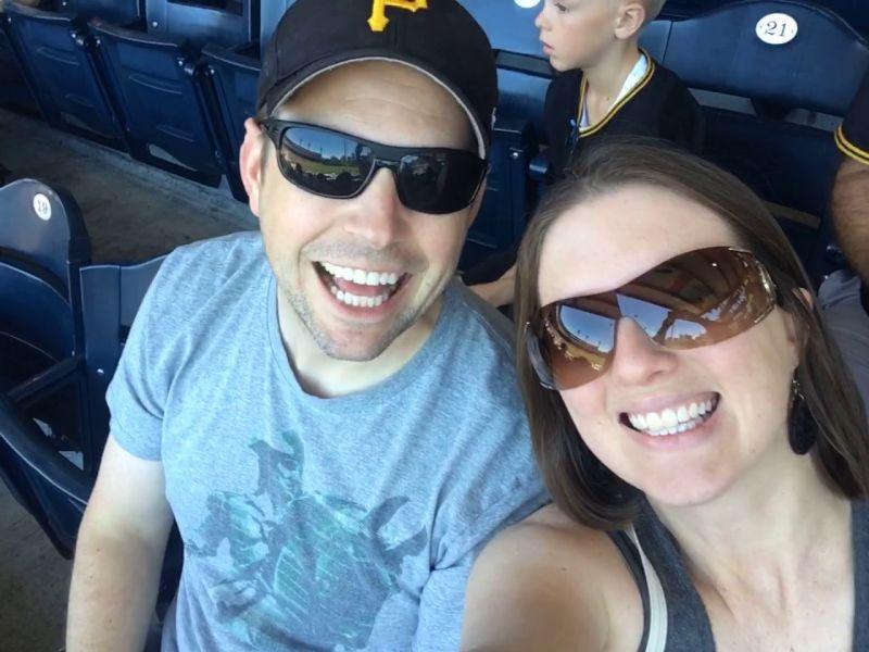 Enjoying a Baseball Game