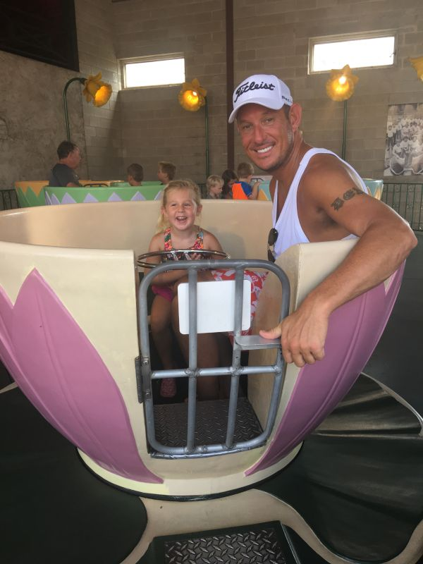 Riding the Tea Cups