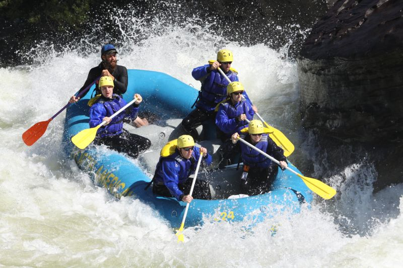 Conquering the Gauley River in West Virginia