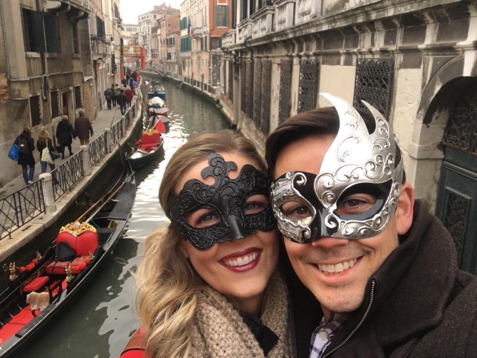 Enjoying the Carnivals in Venice, Italy