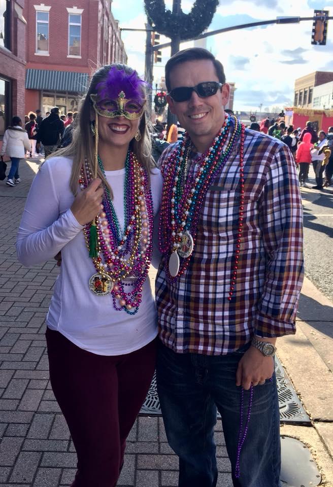 Celebrating Mardi Gras Together