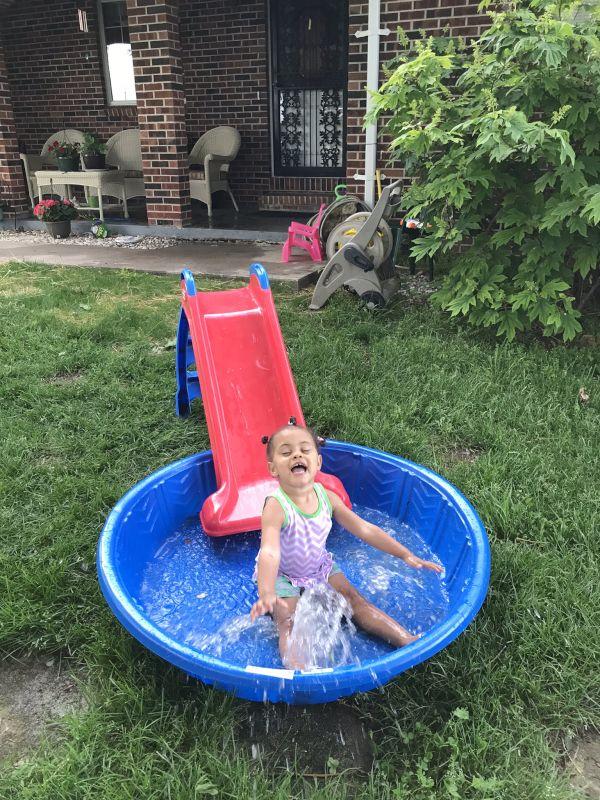 Summer Fun in Our Yard
