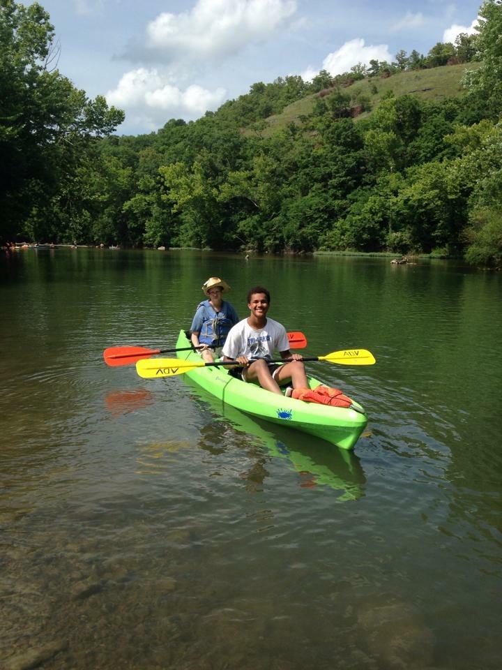 Julius & Letitia's Brother Kayaking
