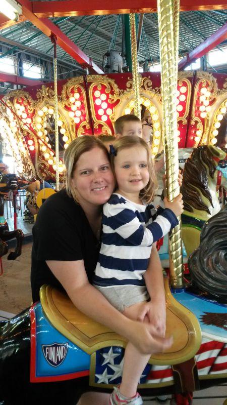 Fun at an Amusement Park
