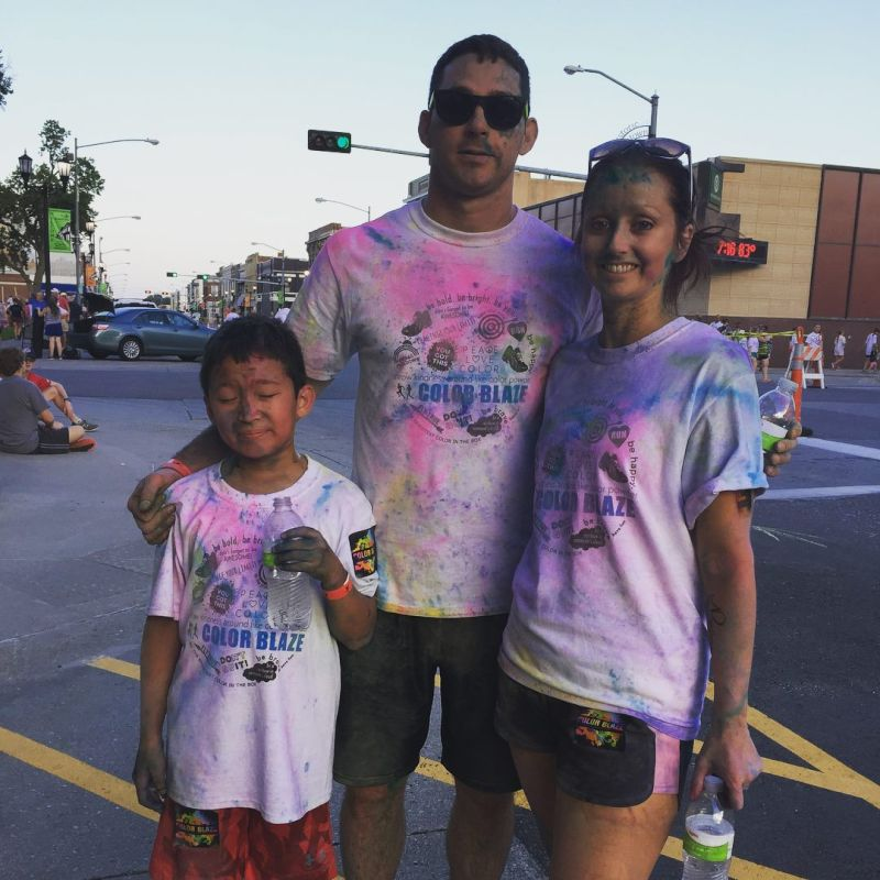 Fun at a Color Run