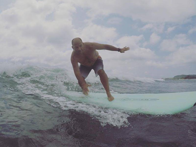Jess Surfing